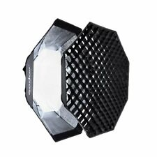 "DE Godox 95cm 37"" Oktagon Grid Gitter Softbox Bowens Anschluss für Studio Blitz"