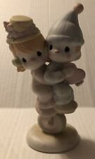 Precious Moments Figurine Lord Help Is Keep Our Act Together 101850 Q