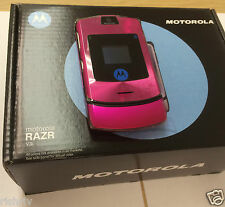 "MOTOROLA RAZR V3i-MOBILE IN HOT PINK-FULLY UNLOCKED EXCEPT ""3"" UK SELLER"