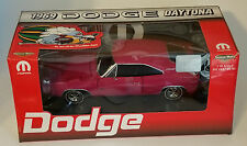 ERTL 1/18 1969 DODGE DAYTONA PANTHER PINK WITH BLACK WING 1 OF 500 NEW IN BOX