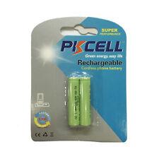 2 Cordless Phone Battery NiMh AAA 800mAh 1.2V for Panasonic HHR-4DPA HHR-65AAABU