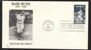 1983 Babe Ruth Baseball Chicago Sc 2046 Goldmine 1st cachet