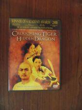 Crouching Tiger, Hidden Dragon (2001 Dvd) Chow Yun Fat, Zhang Ziyi
