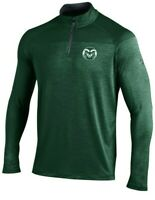 Colorado State Rams Men's Under Armour Tech 1/4 Zip Long Sleeve Shirt, NWT