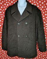 J. Crew Men's Wool Blend Coat Jacket Gray Size Large