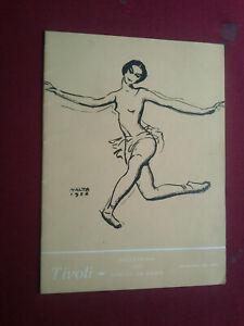 RARE 1956 PARIS OPERA BALLET MILORAD MISKOVITCH PORTUGAL PROGRAM
