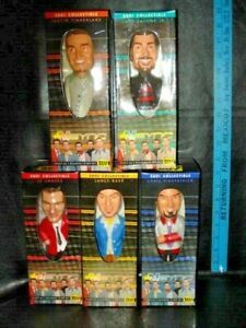 2001 Collectible Nsync N Sync Bobble Head Dolls Complete Set of 5 Best Buy NIB