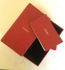 CARTIER a Red Original Hard Box Watches or Jewelry Nice organizer Drawer Rare...