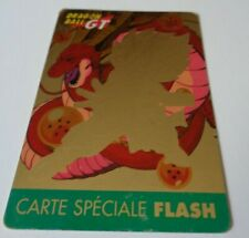 RARE <> DRAGON BALL GT <> CARTE SPÉCIALE FLASH <> CARDDASS <> 1997