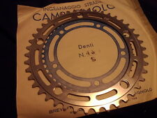 NOS Campagnolo NUOVO RECORD chainring 43 teeth, 144bcd strada road 3/32