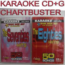 Churtbuster KARAOKE CD+G 6 DISC SEVENTIES+EIGHTIES NEW IN CASE 5015+5016