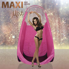MaxiMist - Pink Spray Tan Tent / Pop Up Booth - pink - Clear View Edition