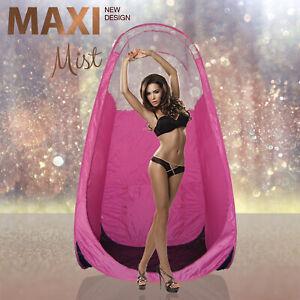 Maximist - Rose Spray Tan Tente/Pop-Up Cabine - Rose - Transparent Vue Édition