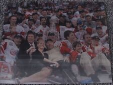 DETROIT RED WINGS STANLEY CUP CHAMPS 2002 3-D HOLOGRAM PHOTO MEISNER NHL HOCKEY