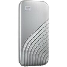WD 2TB Portable External My Passport SSD 2020 2nd Gen USB 3.2 Super Fast Silver.