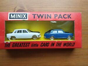 Tri-ang MINIX RC.25  2 X Cars in Original Box. New. Vintage. Collectors Item