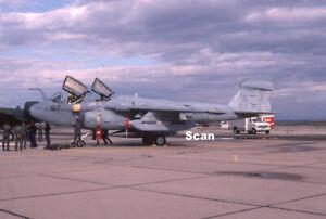Original 35mm Slide Military Aircraft/Plane USN EA-6 161285 Mar 1986 #P4461