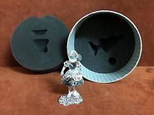 SWAROVSKI Silver Crystal # 7550 RED RIDING HOOD w/ BASKET Original Holder & COA