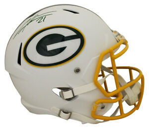 Charles Woodson Autographed Green Bay Packers F/S Flat White Helmet JSA 28239