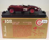 Brumm 1/43 Jaguar 3,5 Litri Mille Miglia (1948) in OVP #342