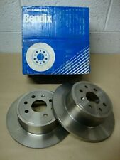 Vauxhall Vectra 1995 - 2002 (4 Stud Hub) 561961B Solid Rear Brake Discs (Pair)