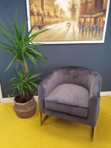 Stortford - Velvet Chair - Lounge Chair - Office Chair - Reading Room Chair