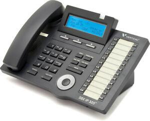 Vertical Vodavi 4024-00 Sbx 24-button Digital Display Phone (black) Corded Phone