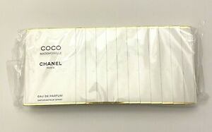 Chanel Coco Mademoiselle Eau De Parfum Sample 1,5 ml x 12 pcs SET SEALED PACK