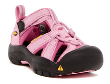 NEW KEEN VENICE H2 WATERPROOF CLOSED TOE SANDALS SHOES  GIRLS 13 PINK FREE SHP
