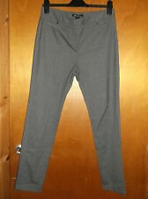 "Kenneth Cole 'Caylee' Smart Straight Leg Trousers 10 W32"" L29"" Grey BNWT"