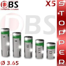 5X Dental Implant Best STOPPERS for Dental Drills Ø 3.65 Premium Quality !