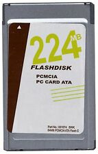 224MB Gigaram PCMCIA ATA Flash Card (p/n ATA-224MB-MT)