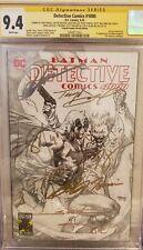 Detective comics 1000 Jim Lee Sketch Variant. Signed 9X!! CGC SS 9.4