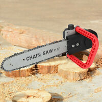 11.5in Eletric Chain Saw Converter Chainsaw Bracket Change grinder to chain saw