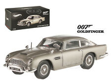 "ASTON MARTIN DB5 ELITE JAMES BOND ""GOLDFINGER"" MOVIE 1964 1/43 HOTWHEELS BLY26"