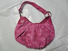 Hello Kitty Girls Handbag Pink Embossed Purse Sanrio