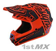 Troy Lee Designs SE4 MIPS POLY Team Orange Motocross Helmet Adult XSmall 53-54cm