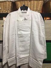 CHEF TOP White XL Personalization Mall 100 % Cotton Thin Denim Material