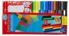 Faber Castell 25 Connector Pen Colour Color Textas Marker Sketch Pens