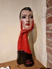 More details for vintage christian dior deco plaster mannequin bust store display reproduction