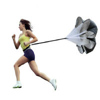 "56"" Resistance Speed Training Parachute Running Chute Football Exercise + Bag"