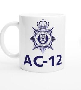 AC12 Mug Any Quote Or Name Detective Police Gift