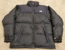 THE NORTH FACE BLACK NUPTSE 600 YOUTH sz XL BLACK DOWN JACKET Vtg 90s 2000s Coat