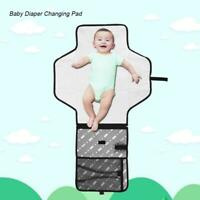 Portable Baby Diaper Changing Pad with Mesh Bag Infant Toddler Foldable Mat