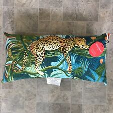 Opalhouse Jungle  Leopard Oversized Outdoor Lumbar Pillow Jungle Cat NEW w/ Tags