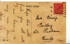 Genealogy Postcard - Breeze - Fontley - Fareham - Hampshire - 2906A