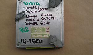 JDM TOYOTA CHASER CRESTA CROWN MARK II SOARER ECU 89661-30212 WITH 1G 1GEU #1812