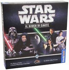 STAR WARS LCG Gioco di Carte da Tavolo Italiano Miniature Guerre Stellari