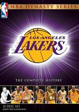 NBA - Dynasty Series : The Complete History Of The Lakers (DVD, 2011, 10-Disc Se