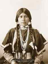 Giclee Reprint Vintage Native American Indian Photo Beautiful Young YAKAMA WOMAN